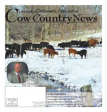 cow country news february 2015 by the kentucky cattlemen u0027s