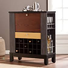 Compact Bar Cabinet Southern Enterprises Warren Wine Bar Cabinet Hayneedle
