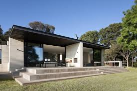 one story home designs renovated one story house in australia reveals innovative one