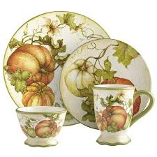 pier 1 harvest garden dinnerware ordered for my fall dishes jim