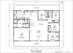 Sample House Floor Plans Metal Home Plans Building Outlet Corp 10390 Bradford Rd