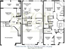sle floor plans 2 story home bedroom house floor plans with pictures simple plan master modern