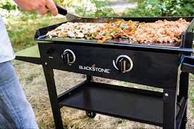 Outdoor Flat Grill Cooktop Blackstone 28 Griddle 28 U201d Griddle U2013 2 Burner Propane Flat Top