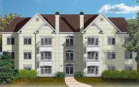 12 unit apartment building plan 83120dc architectural designs