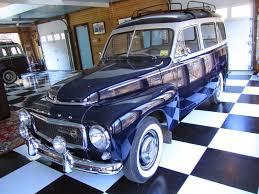 blue volvo station wagon autoliterate volvo p 210 portland maine