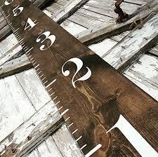 wooden growth chart growth chart farmhouse decor farmhouse