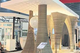 home design 3d printing 3ders org thai cement maker scg develops an elegant 3m tall 3d