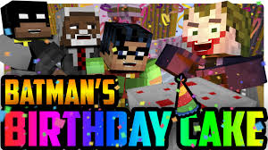 minecraft joker steals batman u0027s birthday cake minecraft