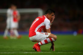 alexis sanchez daughter arsenal star alexis sanchez not playing in the chions league