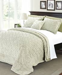 tatami quilted faux fur bedspread set bnf home inc