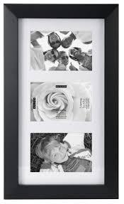 malden international designs berkeley matted black wood collage