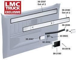 Gmc Interior Parts Replacement Door Trim 1981 87 Chevy Pickup Truck 1981 87 Gmc