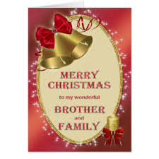 christmas brother and family cards invitations greeting u0026 photo
