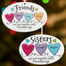 and friends heartstrings oval ornament personal creations
