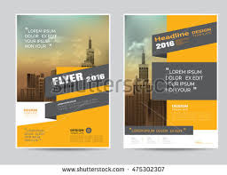 design flyer corporate brochure flyer design layout template stock vector