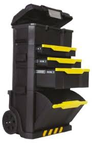 stanley 10 drawer rolling tool cabinet 1 79 206 stanley 4 drawer wheeled aluminium plastic tool chest