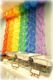 engagement party decoration ideas diy best rainbow decorations on