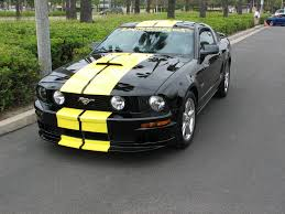 2002 Black Mustang Yellow Stripes On My Black Stallion Page 2 Ford Mustang Forum