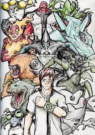 ben 10 alien friends kjmarch deviantart