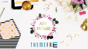 all4home beautiful wordpress theme for home decoration interior