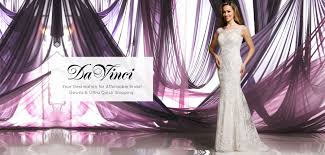 Wedding Dress Websites Wedding U0026 Bridesmaid Dresses Davinci Bridal Collection