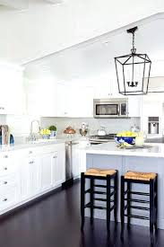 Black Kitchen Island With Stools White Kitchen Island With Black Top White Kitchen With Black