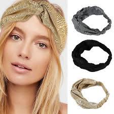 knot headband fabric women s knot headband ebay