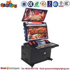 Street Fighter 3 Arcade Cabinet Newest Tekken 5 Arcade Games Token Kids Coin Pusher Type Arcade