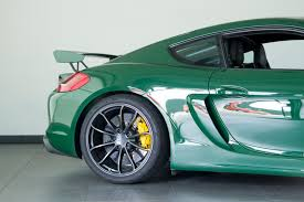 irish green porsche 2016 porsche cayman gt4 for sale in colorado springs co c160