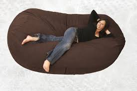 Big Bean Bag Chair by This Bean Bag Chair Is Made From A Durafoam Blend And Microfiber