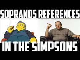 The Sopranos Meme - the sopranos references in the simpsons youtube
