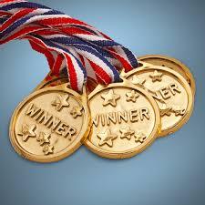 halloween medals gold award medallion 12 pack
