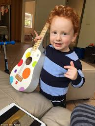 Ed Sheeran Ed Sheeran Superfan Aged Three Wants To Sing With His Idol Daily