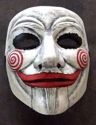 anonymous mask anonymous the saw puppet custom mask painted fawkes