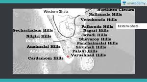 eastern ghats unacademy geography lectures for ias eastern and western ghats