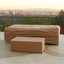 Outdoors Furniture Covers by Portofino Furniture Covers For Sofa U0026 Coffee Table Rst Brands