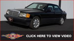 1993 mercedes benz 190e sport line limited edition sold youtube