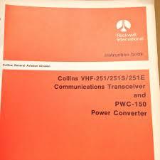collins vhf 251 251s u0026 251e com service manual u2022 151 26 picclick