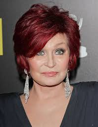 red hair for over 50 burgundy red hair color for short hairstyles with side bangs for