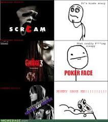 Horror Face Meme - meme memes rage comics net internet web geek funny