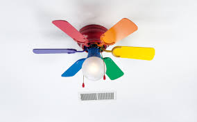 Kids  Ceiling Fan Fairy Decor Eclectic Ceiling Fans Complete The - Ceiling fans for kids rooms