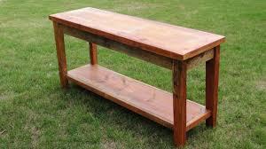 Cherry Wood Sofa Table by Sofa Table Design Top Collection Barn Wood Sofa Table Barnwood