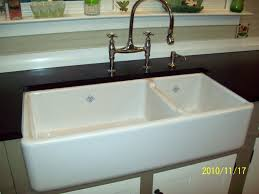 double bowl farmhouse sink with backsplash decorating dazzling design of farm house sinks for kitchen