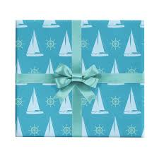 nautical wrapping paper nautical gift wrap revel co