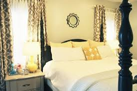 Yellow Gray Curtains Beautiful Grey And Yellow Bedroom Curtains Contemporary Trends