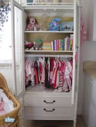 Armoires For Hanging Clothes Repurpose A Vintage China Cabinet Into A Little U0027s Clothing