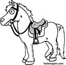 horse coloring pages 3 coloring pages