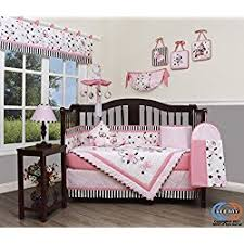Brown And Pink Crib Bedding Pink Crib Bedding