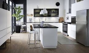 ikea frosted glass kitchen cabinets ikea s new kitchen look book is the design boost your week