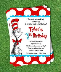 design elegant dr seuss personalized birthday invitations with